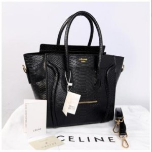Celine croco semprem 20286(Black) ~ 25x15x25 idr@355rb