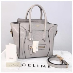 Celine croco semprem 20286(L'Gray) ~ 25x15x25 idr@355rb