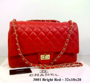 Chanel 3001(Bright Red)