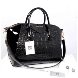 Givenchy antigona croco super 1210G(Black glossi) ~ 33x18x28 idr@355rb