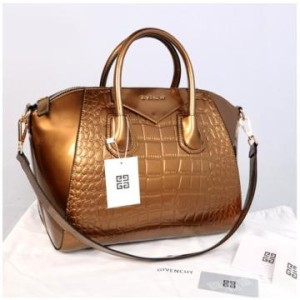 Givenchy antigona croco super 1210G(Bronze glossi) ~ 33x18x28 idr@355rb