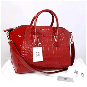 Givenchy antigona croco super 1210G(Red glossi) ~ 33x18x28 idr@355rb