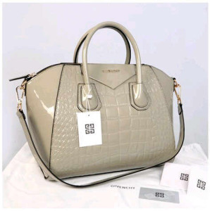 Givenchy antigona croco super 1210G(gray glossi) ~ 33x18x28 idr@355rb