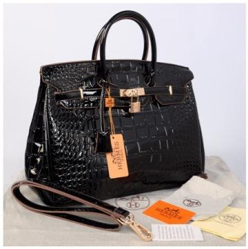 HB croco embosed semprem 1410(Black) ~ 35x18x25 idr@380rb