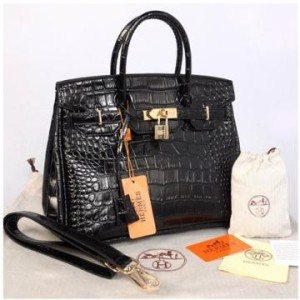 HB croco embosed semprem 1412(Black) ~ 30x17x23