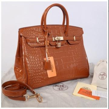 HB croco embossed semprem 1410(khaki) ~ 35x18x25