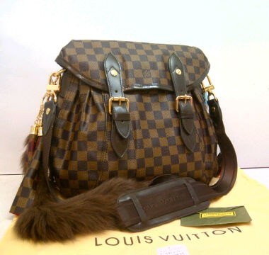 LV Sunrise super 95852ET(Damier) ~ 30x13x27 idr@455rb