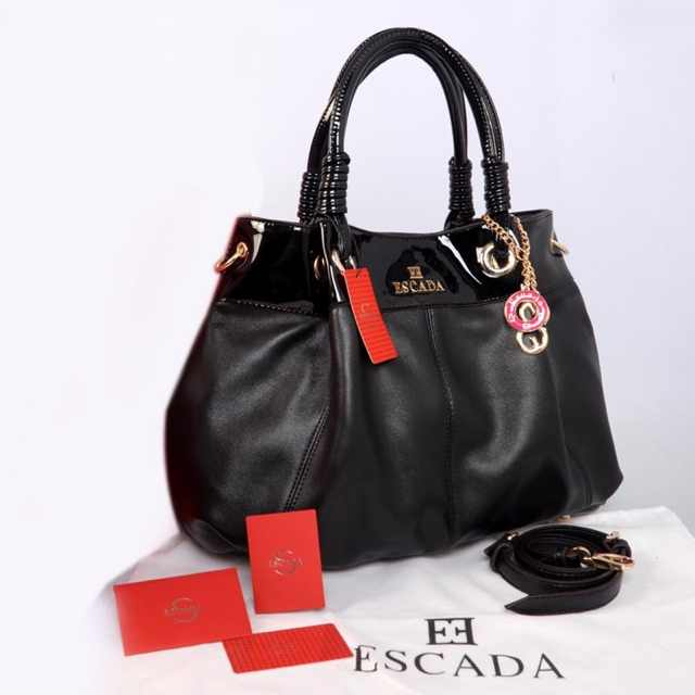 New ESCADA super klt & glossi 169(Black) ~ 38x13x30 idr@325rb