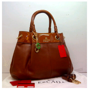 New ESCADA super klt & glossi 169(Coffee) ~ 38x13x30 idr@325rb