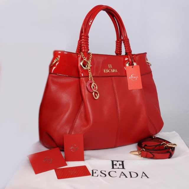 New ESCADA super klt & glossi 169(Red) ~ 38x13x30 idr@325rb