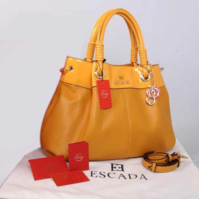 New ESCADA super klt & glossi 169(Yellow) ~ 38x13x30 idr@325rb