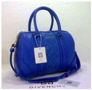 New Givenchy speedy klt super 8986(Blue) ~ 31x15x21 idr@325rb