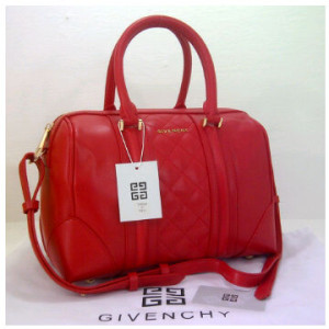 New Givenchy speedy klt super 8986(Red) ~ 31x15x21 idr@325rb