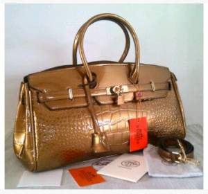 New Hermes Long Birkin croco glossi semprem 1415-1(Bronze) ~ 40x17x23 idr@380rb