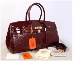 New Hermes long birkin croco glossi semprem 1415-1(D'Red) ~ 40x17x23 idr@380rb