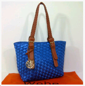 New Webe kepang polyester 0123(Blue) ~ 27x17x23 idr@325rb
