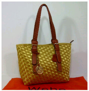 New Webe kepang polyester 0123(Yellow) ~ 27x17x23 idr@325rb