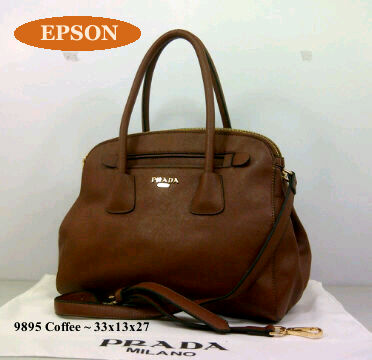 Prada epson super 9895(coffee) idr@325rb