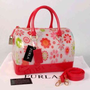 Furla Jelly milk Flower(Pink Fanta) ~ 28x17x19 idr@355rb