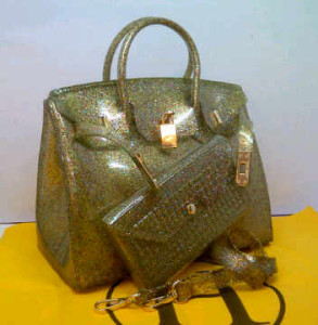 HB Jelly gliter SEMOR set(Bronze) ~ 30x15x23 idr@355rb