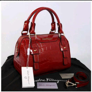 New Salvatore Ferragamo croco semi speedy semprem 3309(Red) ~ 28x18x18 idr@355rb(1)