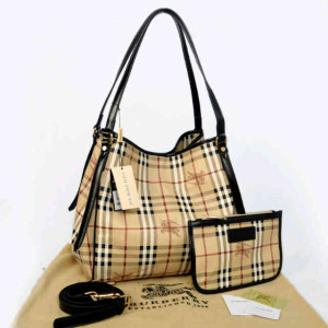 Burberry semprem 1062(Apricot grid-Black) ~ 30x18x32 idr@380rb