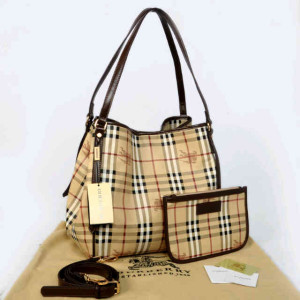Burberry semprem 1062(Apricot grid-Coffee) ~ 30x18x32 idr@380rb
