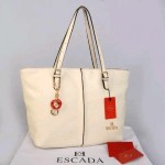 Tas Escada T1063 Kulit Dove Super