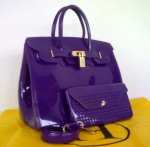 Limited HB Jelly SEMOR(D'Purple) ~ 30x15x23