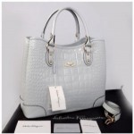 Tas Salvatore Ferragamo 1140S-1 Maribel Croco Embossed Semprem