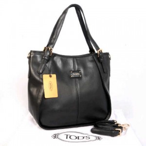 Tods sacca super klt dove T352(Black) ~ 30x13x30