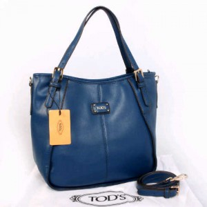 Tods sacca super klt dove T352(Blue) ~ 30x13x30