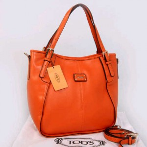 Tods sacca super klt dove T352(Orange) ~ 30x13x3