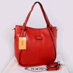 Tods sacca super klt dove T352(Red) ~ 30x13x30