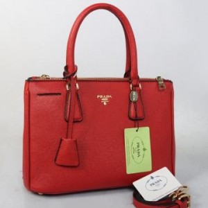 2274(Bright Red) ~ 33x13x23 New Prada safiano taega epson kwalitas super