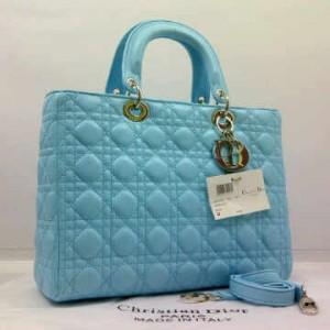 8802-2(L'Blue-Toska) ~ 30x10x23 Christian Dior lambskin dove kwalitas super