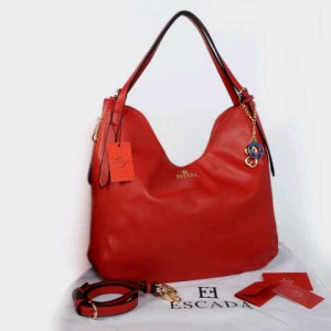 New Escada super klt dove 1359(red) ~ 33x11x35