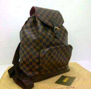 New LV Back Pack super 51135EC(Damier) ~ 31x13x38