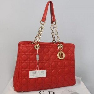 116EC(Bright Red) ~ 35x10x27 Christian dior lambskin rajut kwalitas semprem with retsleting
