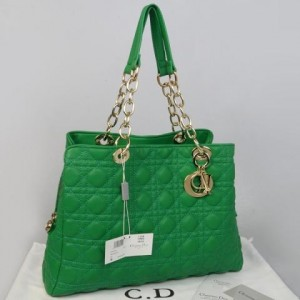 116EC(Green) ~ 35x10x27 Christian dior lambskin rajut kwalitas semprem with retsleting