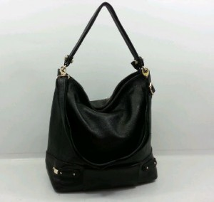 29019OQ(Black) ~ 30x12x30 Fasion Hobo ori HK genuin leather lambskin