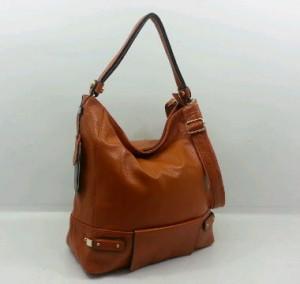 29019OQ(Camel) ~ 30x12x30 Fasion Hobo ori HK genuin leather lambskin