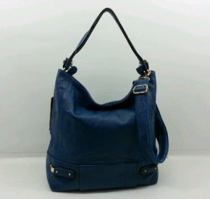 29019OQ(Dark Blue) ~ 30x12x30 Fasion Hobo ori HK genuin leather lambskin