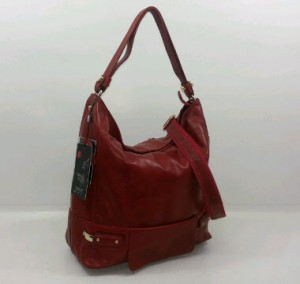 29019OQ(Dark Red) ~ 30x12x30 Fasion Hobo ori HK ~ mango genuin leather