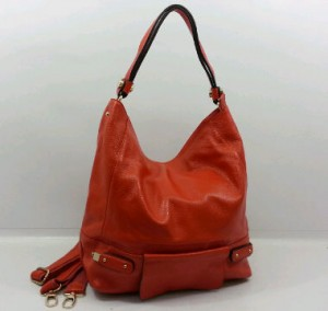 29019OQ(Orange) ~ 30x12x30 Fasion Hobo ori HK genuin leather lambskin
