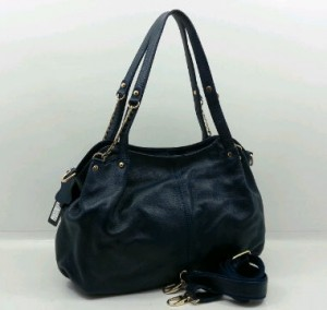3619OQ(Dark Blue) ~ 35x12x25 Fasion ori HK genuin leather lambskin