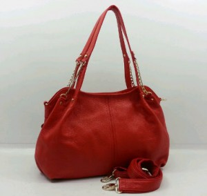 3619OQ(Red) ~ 35x12x25 Fasion ori HK genuin leather lambskin