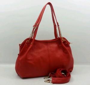 3619OQ(Red) ~ 35x12x25 Fasion ori HK genuin leather lambskin