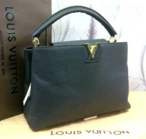 48869tt(Black) ~ 35x13x25 Louis Vuitton capucin kwalitas premium klt jeruk genuine leather(1)