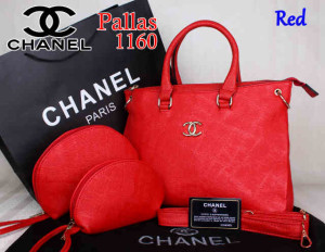 Bag Chanel Pallas 1160 Super uk~35x14x27. Red